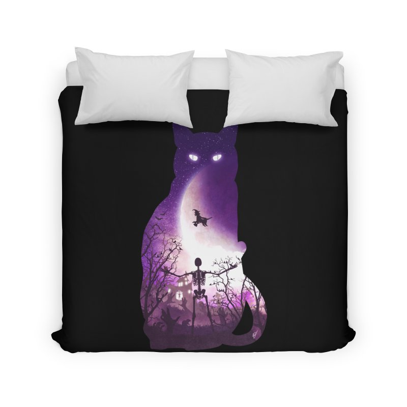 Fright Night Home Duvet by DVerissimo's