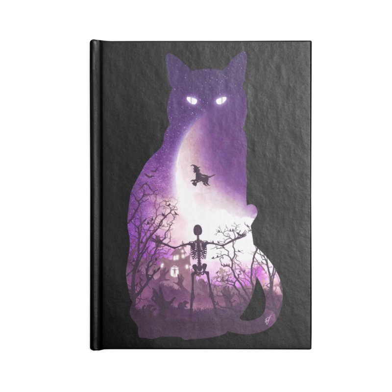 Fright Night Accessories Notebook by DVerissimo's