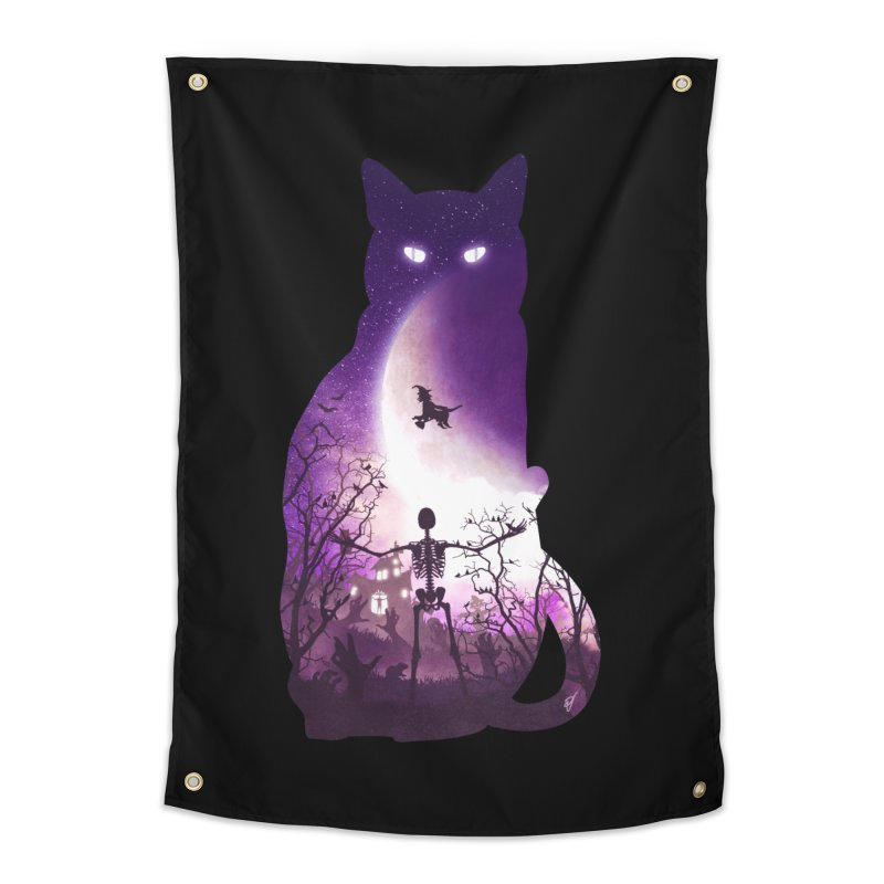 Fright Night Home Tapestry by DVerissimo's