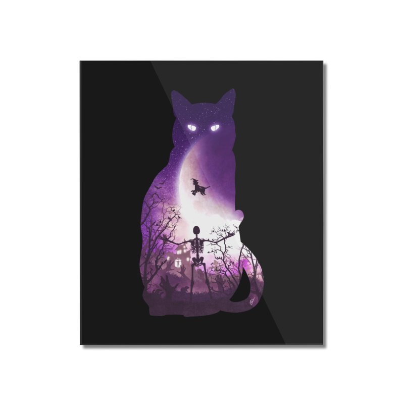 Fright Night Home Mounted Acrylic Print by DVerissimo's