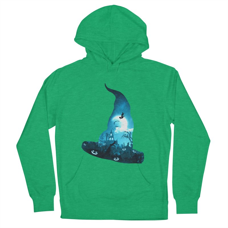 The Witches Hour Men's French Terry Pullover Hoody by DVerissimo's