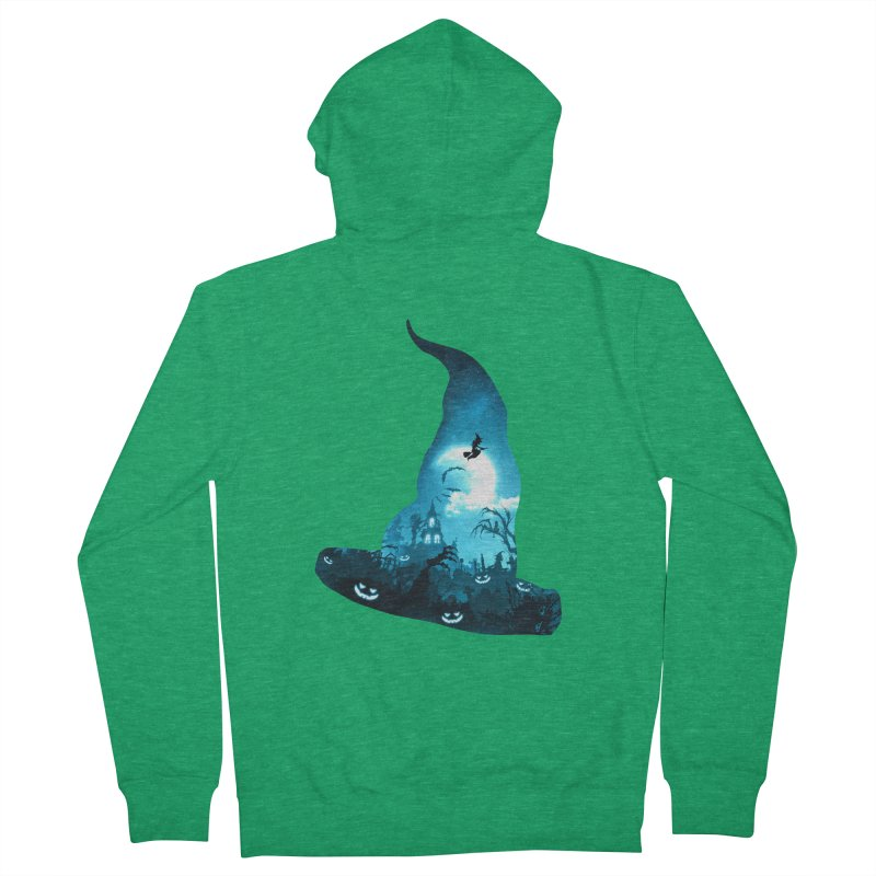 The Witches Hour Men's Zip-Up Hoody by DVerissimo's