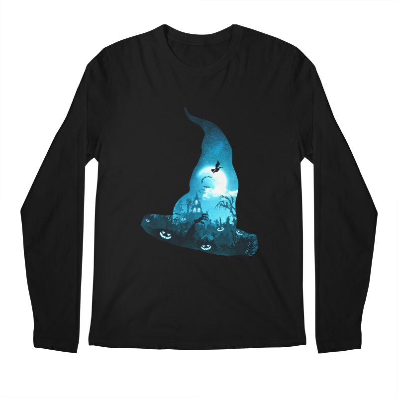 The Witches Hour Men's Longsleeve T-Shirt by DVerissimo's