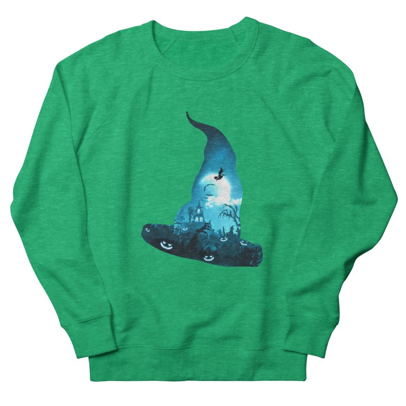The Witches Hour Men's French Terry Sweatshirt by DVerissimo's