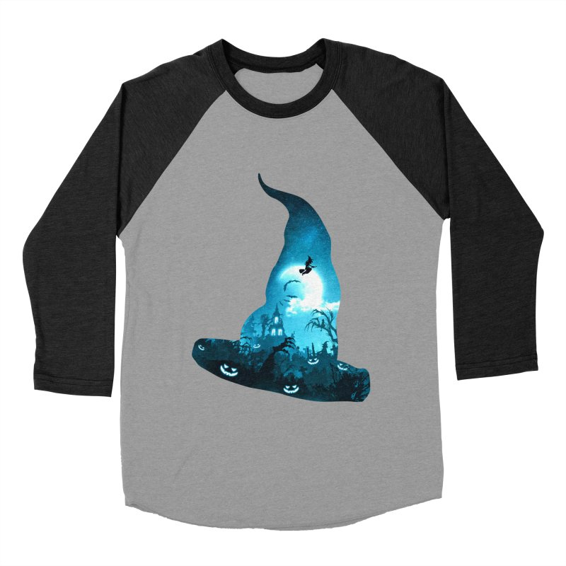 The Witches Hour Men's Baseball Triblend Longsleeve T-Shirt by DVerissimo's