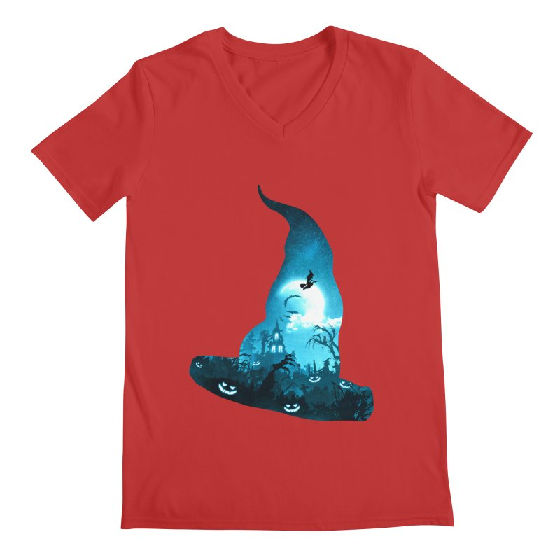 The Witches Hour Men's Regular V-Neck by DVerissimo's