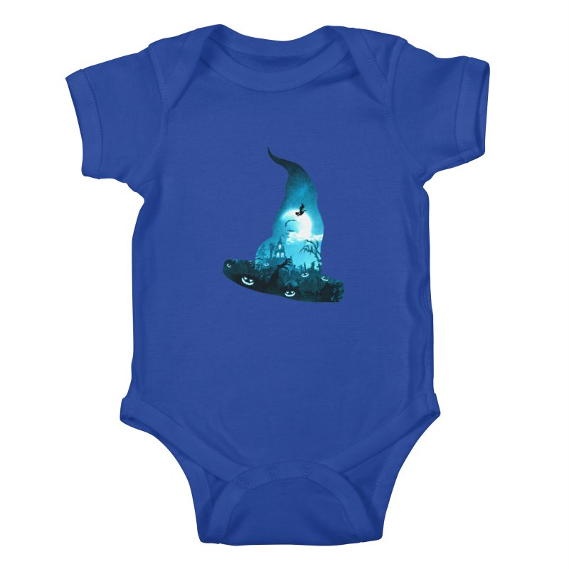 The Witches Hour Kids Baby Bodysuit by DVerissimo's
