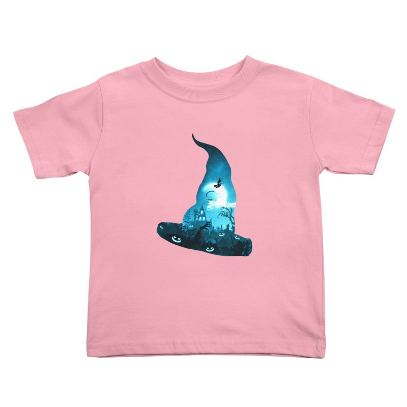The Witches Hour Kids Toddler T-Shirt by DVerissimo's