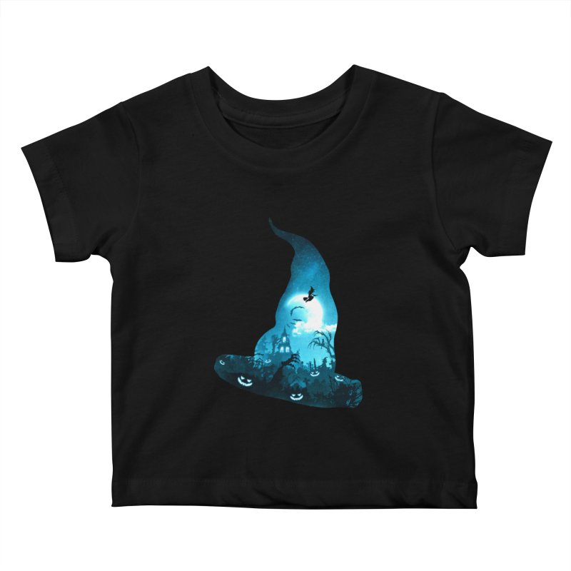 The Witches Hour Kids Baby T-Shirt by DVerissimo's