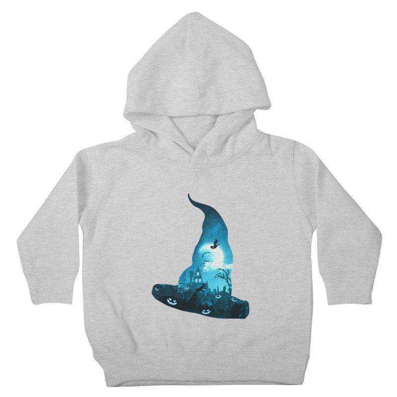 The Witches Hour Kids Toddler Pullover Hoody by DVerissimo's