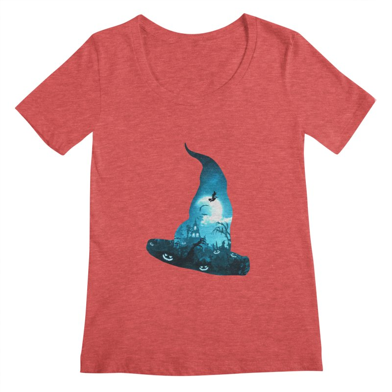 The Witches Hour Women's Regular Scoop Neck by DVerissimo's