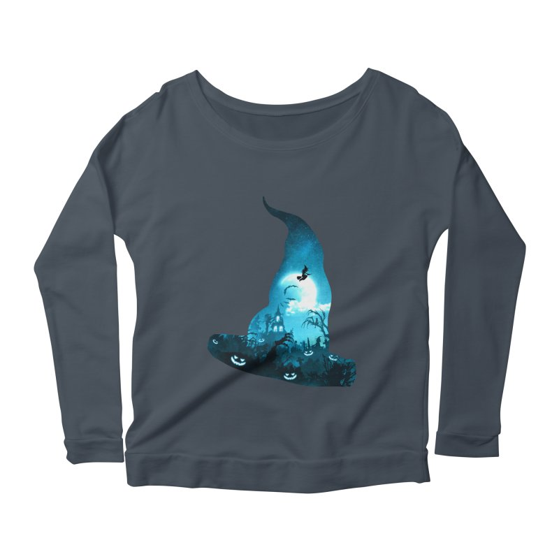 The Witches Hour Women's Scoop Neck Longsleeve T-Shirt by DVerissimo's
