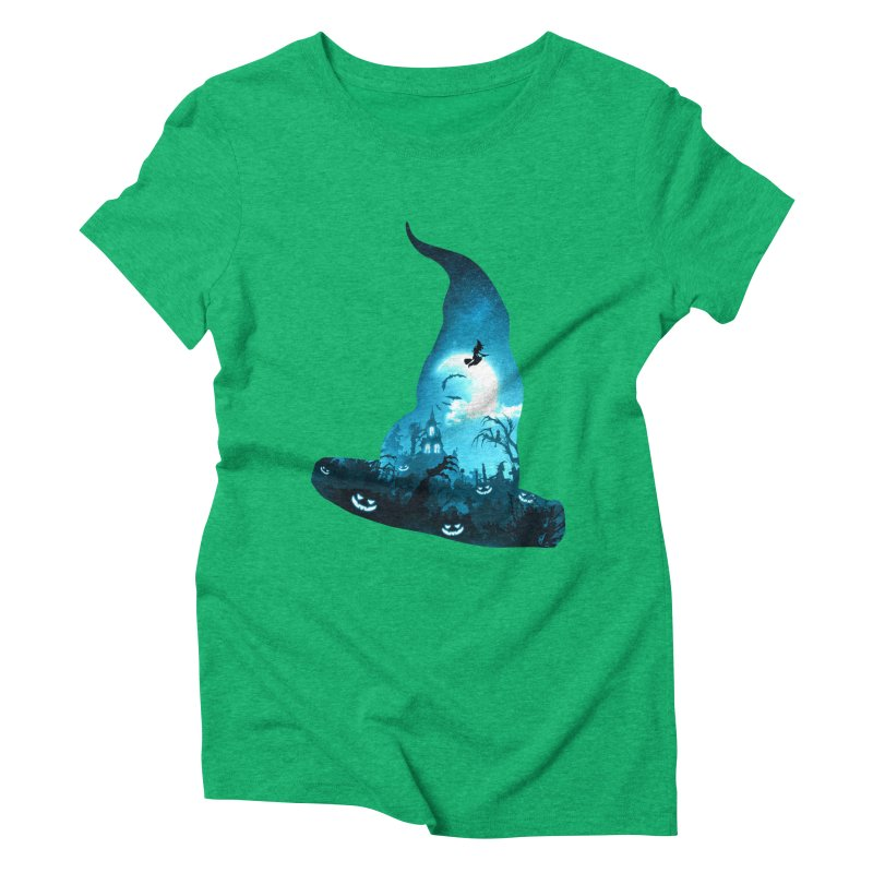 The Witches Hour Women's Triblend T-Shirt by DVerissimo's