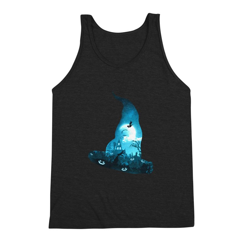 The Witches Hour Men's Triblend Tank by DVerissimo's