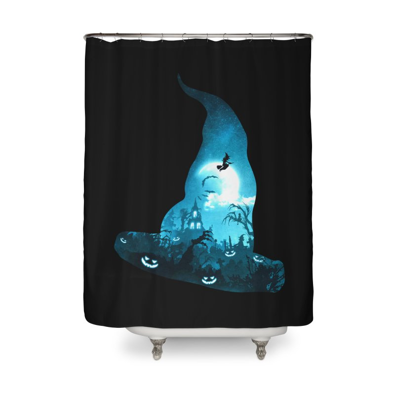 The Witches Hour Home Shower Curtain by DVerissimo's