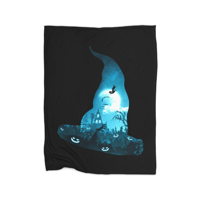 The Witches Hour Home Fleece Blanket Blanket by DVerissimo's