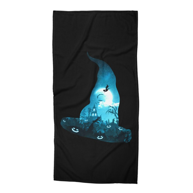 The Witches Hour Accessories Beach Towel by DVerissimo's