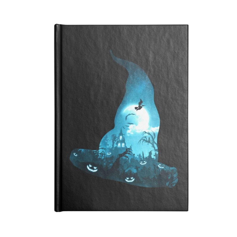 The Witches Hour Accessories Blank Journal Notebook by DVerissimo's
