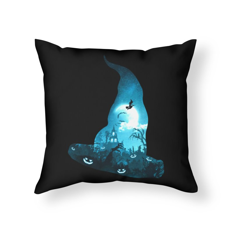 The Witches Hour Home Throw Pillow by DVerissimo's