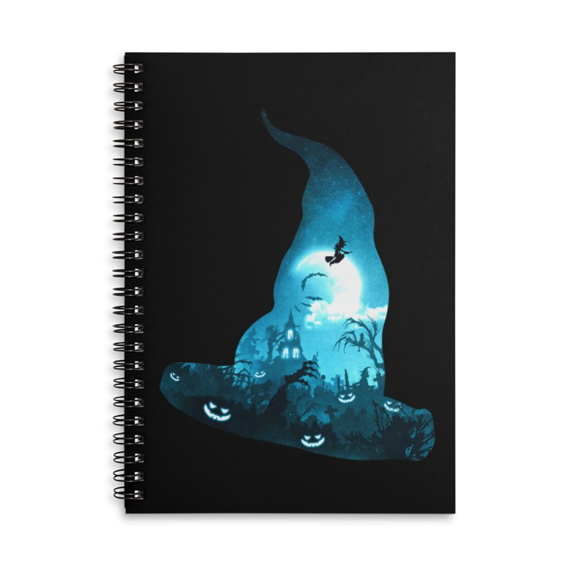 The Witches Hour Accessories Lined Spiral Notebook by DVerissimo's