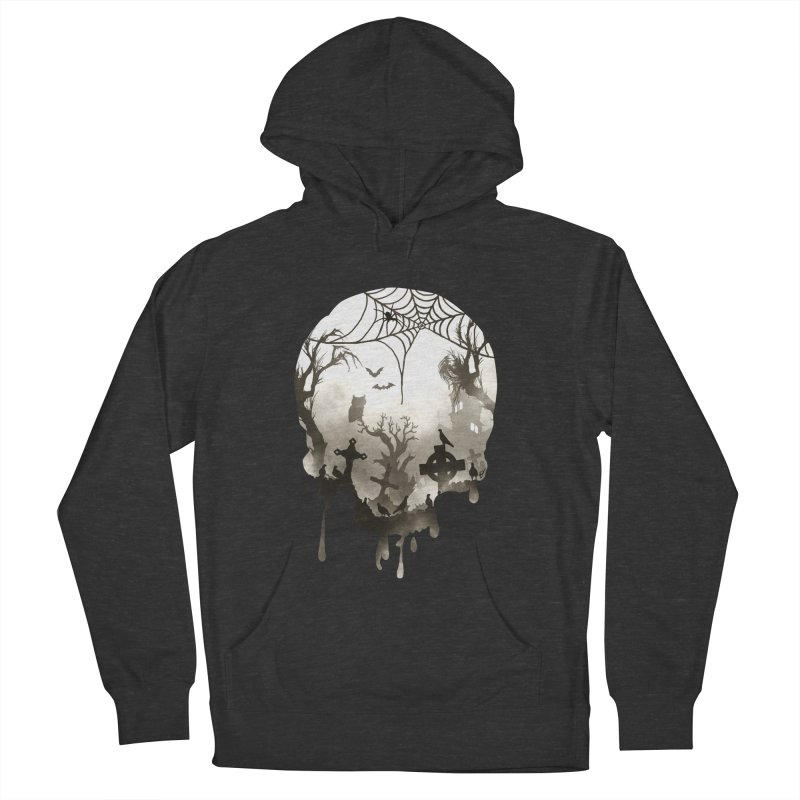 The Darkest Hour Men's French Terry Pullover Hoody by DVerissimo's