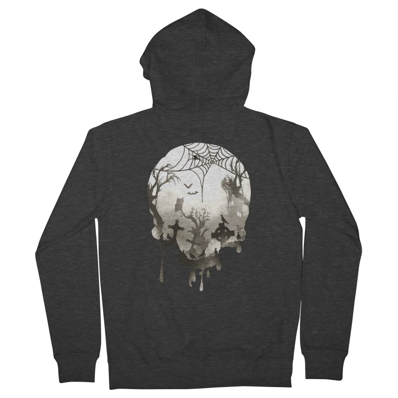 The Darkest Hour Men's Zip-Up Hoody by DVerissimo's