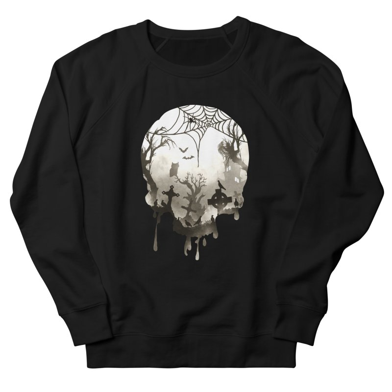 The Darkest Hour Women's French Terry Sweatshirt by DVerissimo's