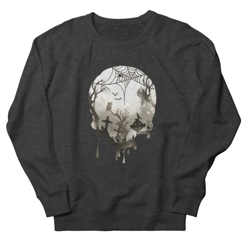 The Darkest Hour Men's French Terry Sweatshirt by DVerissimo's