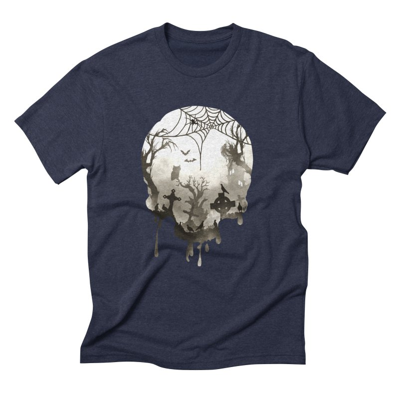 The Darkest Hour Men's Triblend T-Shirt by DVerissimo's
