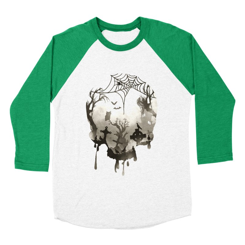 The Darkest Hour Women's Baseball Triblend Longsleeve T-Shirt by DVerissimo's