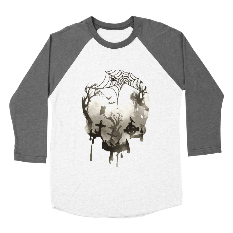 The Darkest Hour Men's Baseball Triblend Longsleeve T-Shirt by DVerissimo's