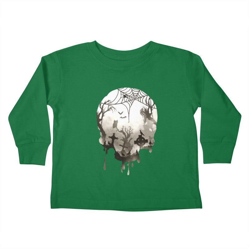 The Darkest Hour Kids Toddler Longsleeve T-Shirt by DVerissimo's