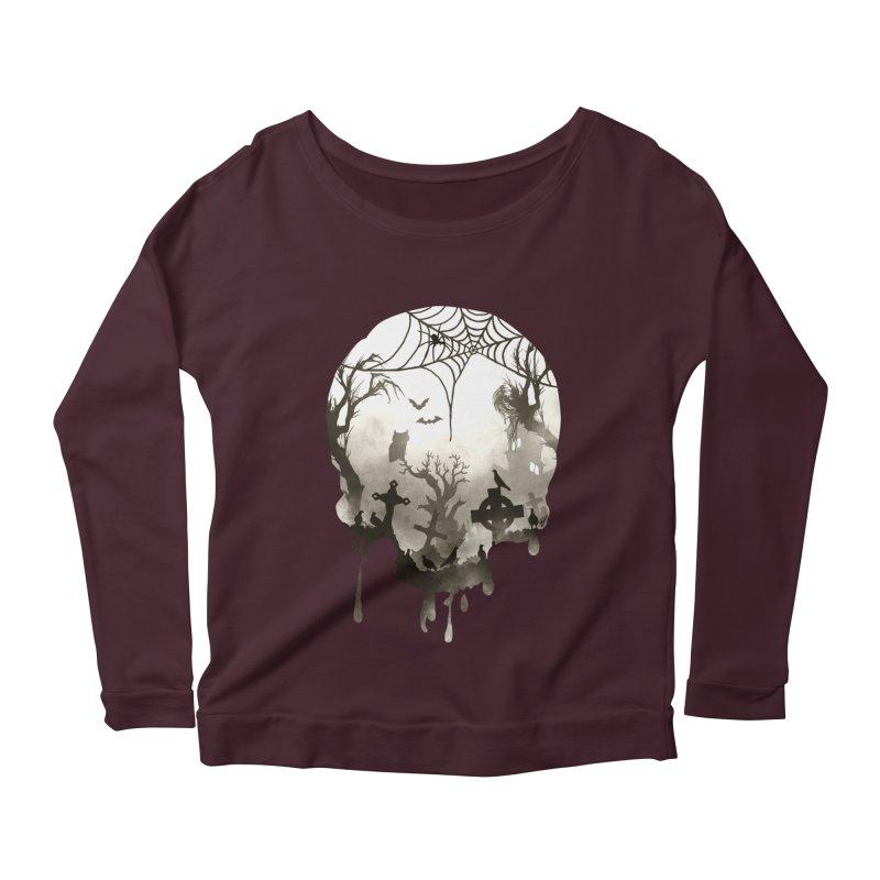 The Darkest Hour Women's Scoop Neck Longsleeve T-Shirt by DVerissimo's