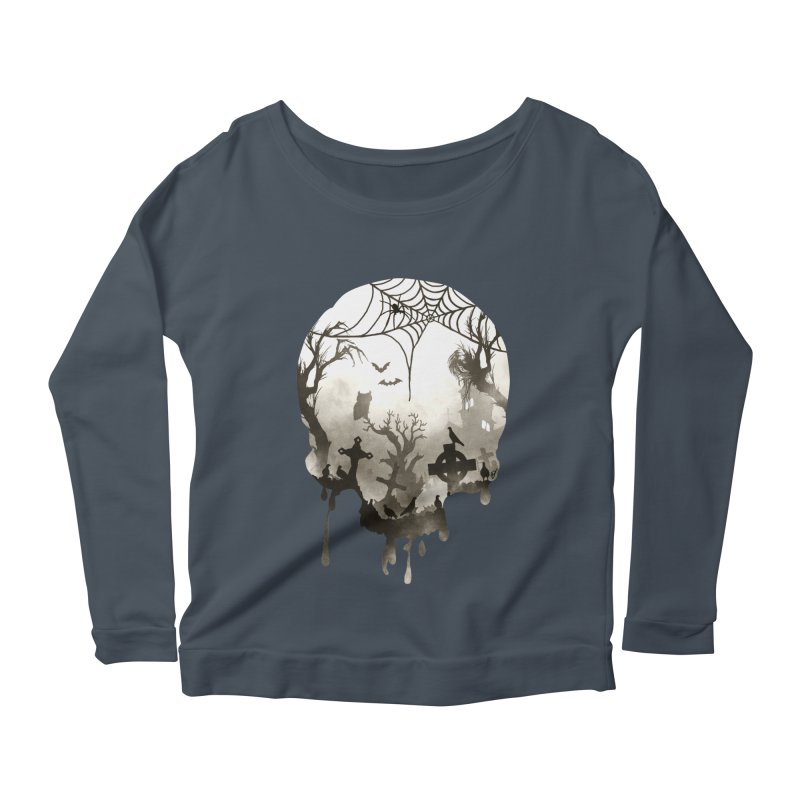 The Darkest Hour Women's Scoop Neck Longsleeve T-Shirt by DVerissimo's