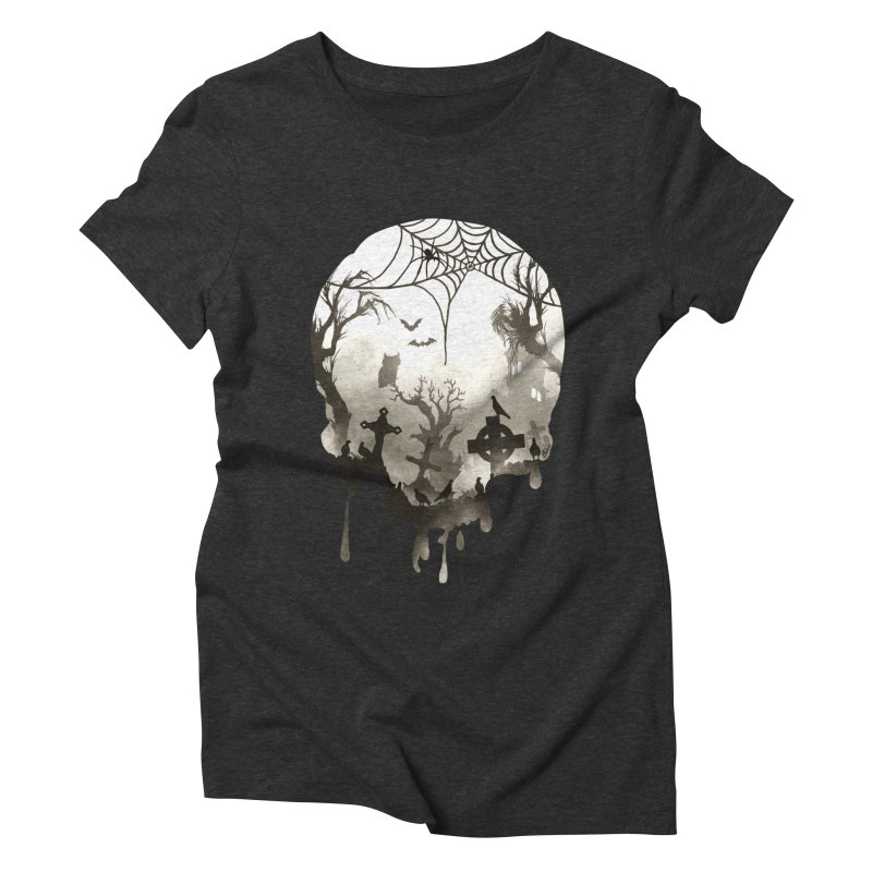 The Darkest Hour Women's Triblend T-Shirt by DVerissimo's