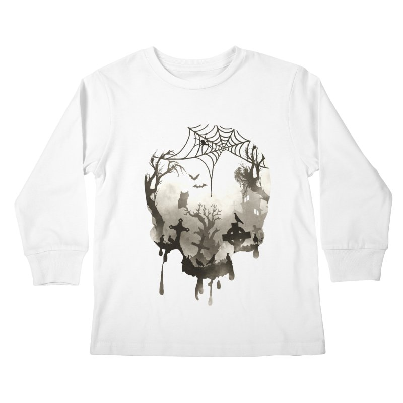 The Darkest Hour Kids Longsleeve T-Shirt by DVerissimo's
