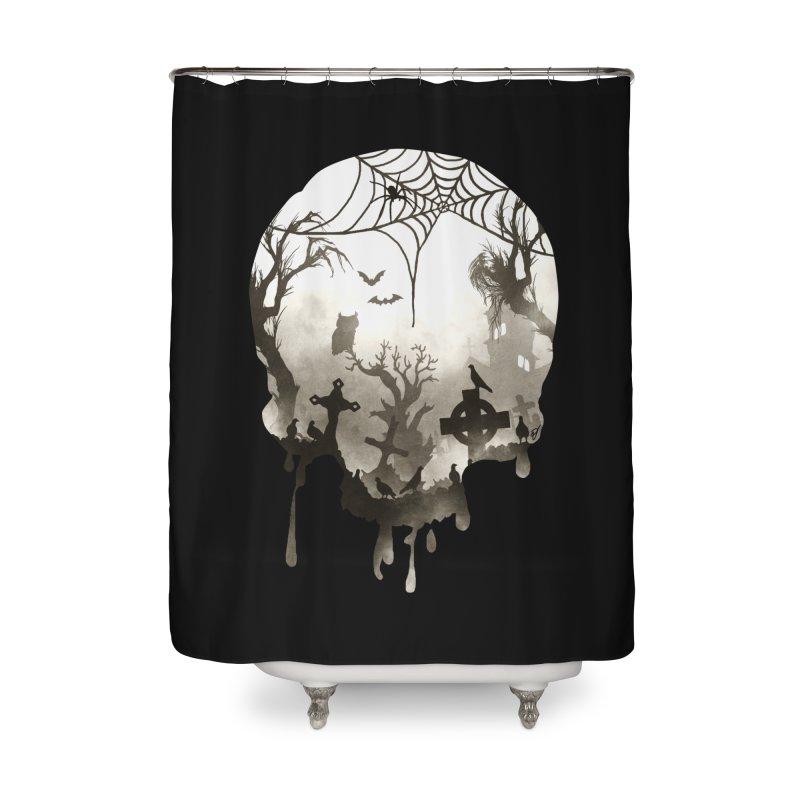 The Darkest Hour Home Shower Curtain by DVerissimo's