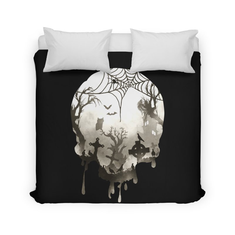 The Darkest Hour Home Duvet by DVerissimo's