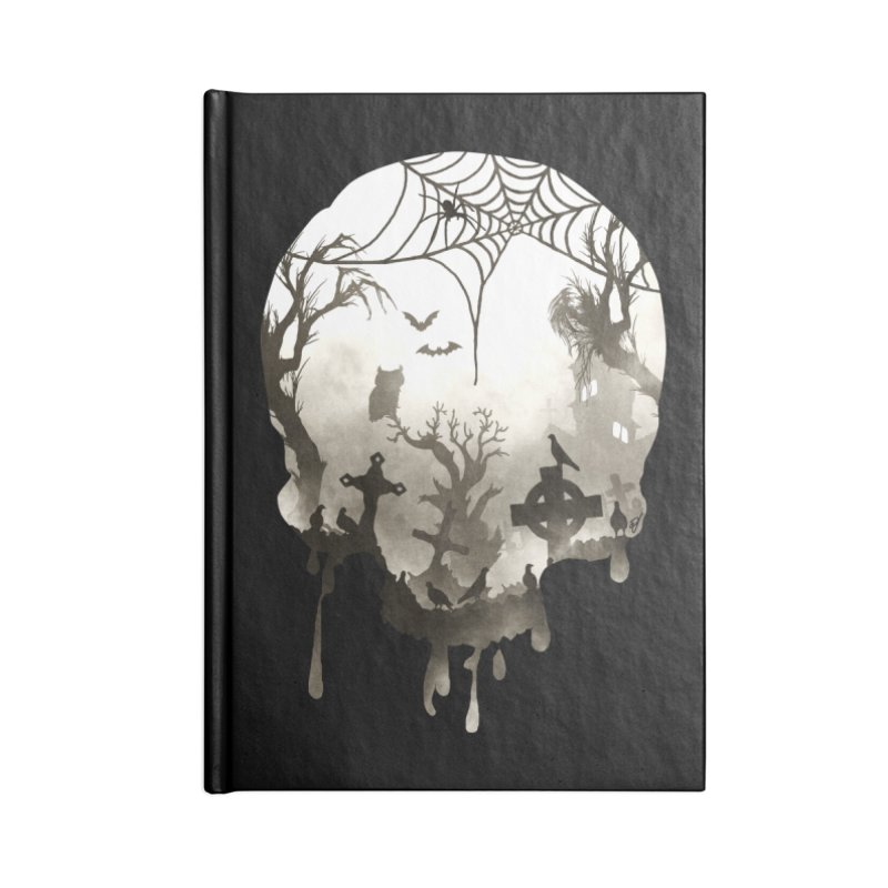 The Darkest Hour Accessories Blank Journal Notebook by DVerissimo's