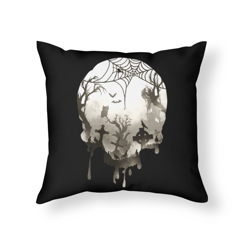 The Darkest Hour Home Throw Pillow by DVerissimo's