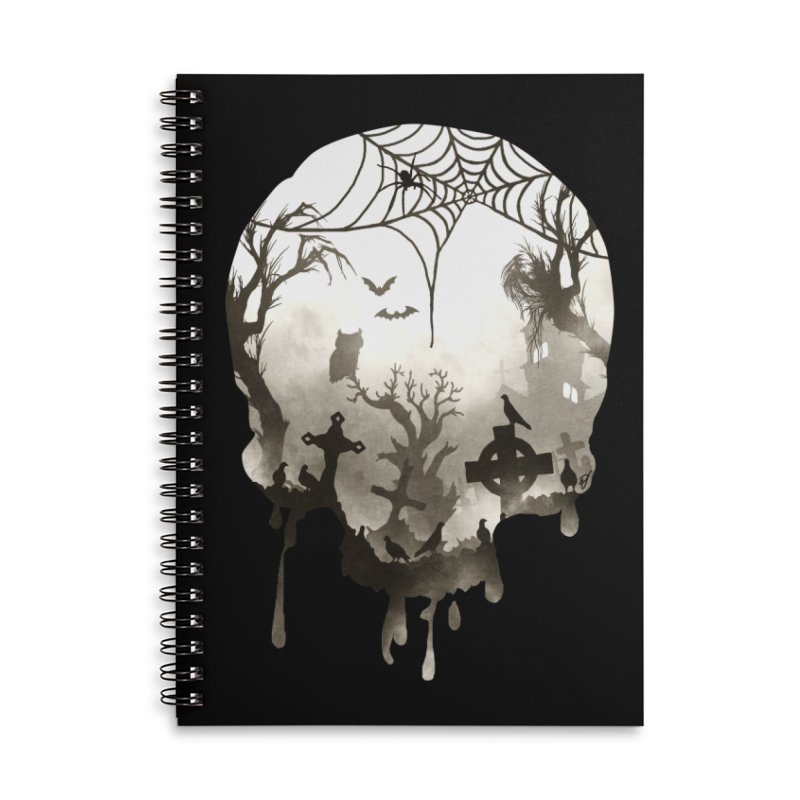 The Darkest Hour Accessories Lined Spiral Notebook by DVerissimo's