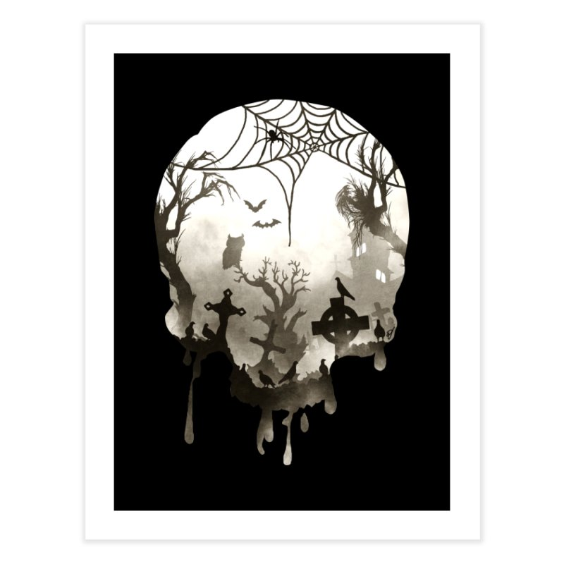 The Darkest Hour Home Fine Art Print by DVerissimo's