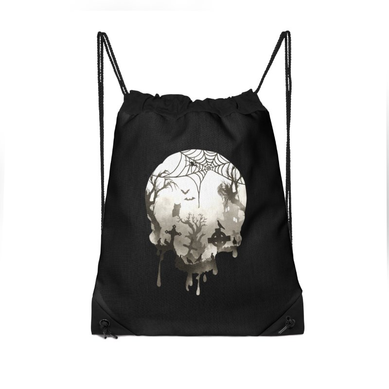 The Darkest Hour Accessories Drawstring Bag Bag by DVerissimo's