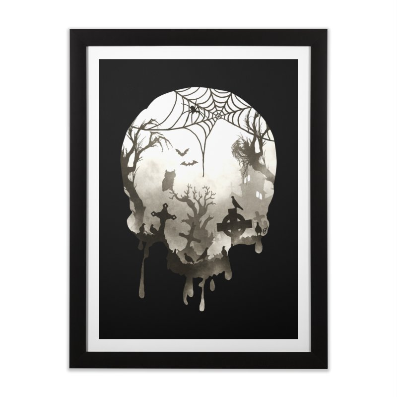 The Darkest Hour Home Framed Fine Art Print by DVerissimo's