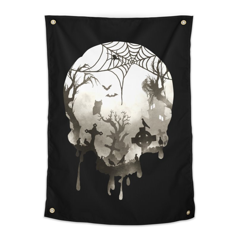 The Darkest Hour Home Tapestry by DVerissimo's