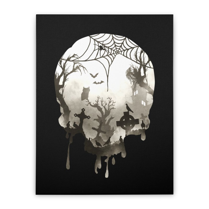 The Darkest Hour Home Stretched Canvas by DVerissimo's