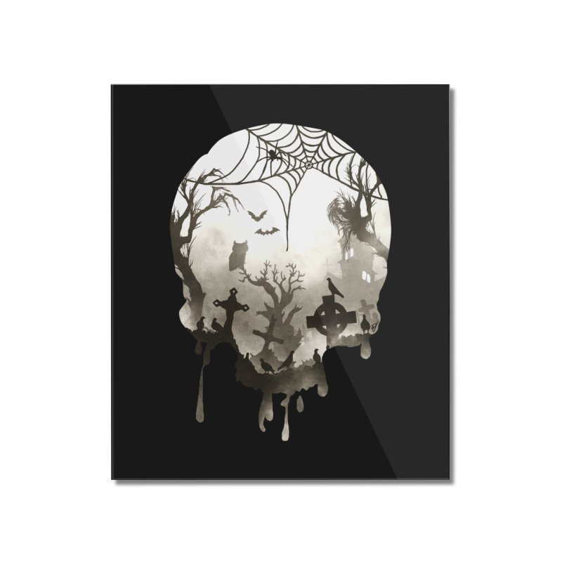 The Darkest Hour Home Mounted Acrylic Print by DVerissimo's