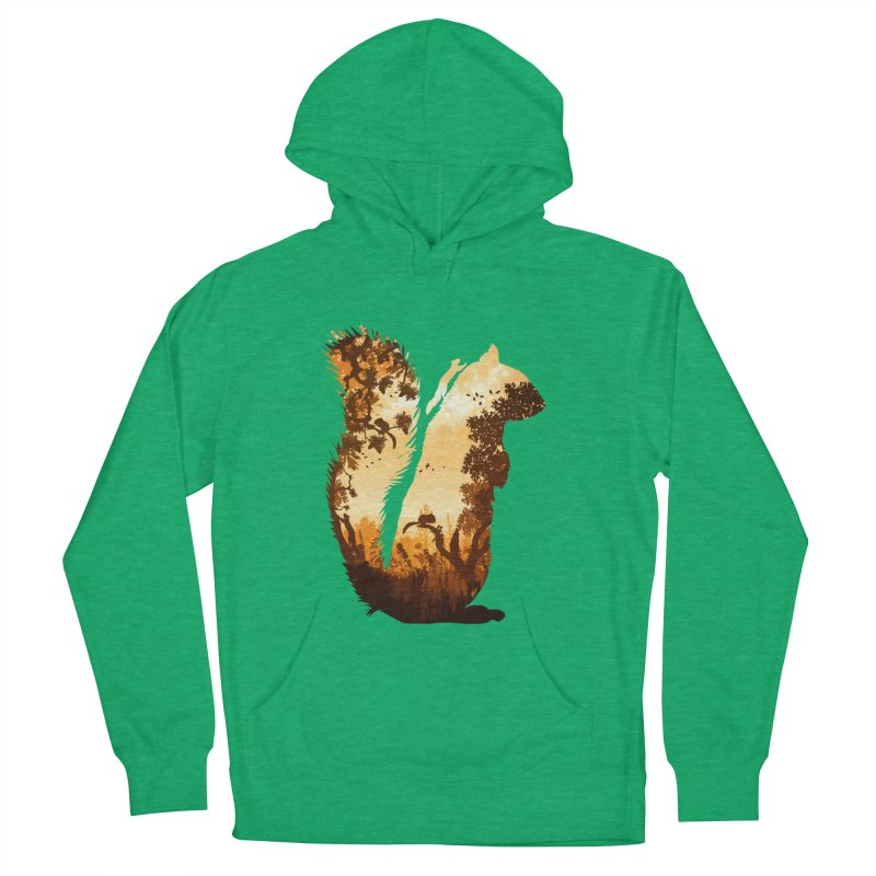 Squirrels in the Fall Women's Pullover Hoody by DVerissimo's