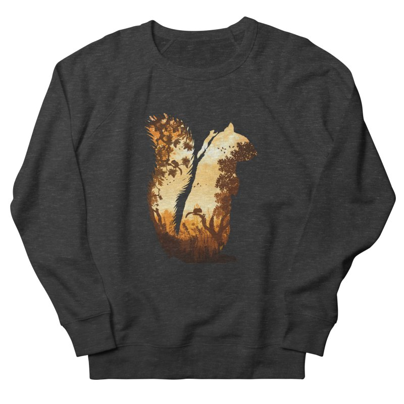 Squirrels in the Fall Women's Sweatshirt by DVerissimo's