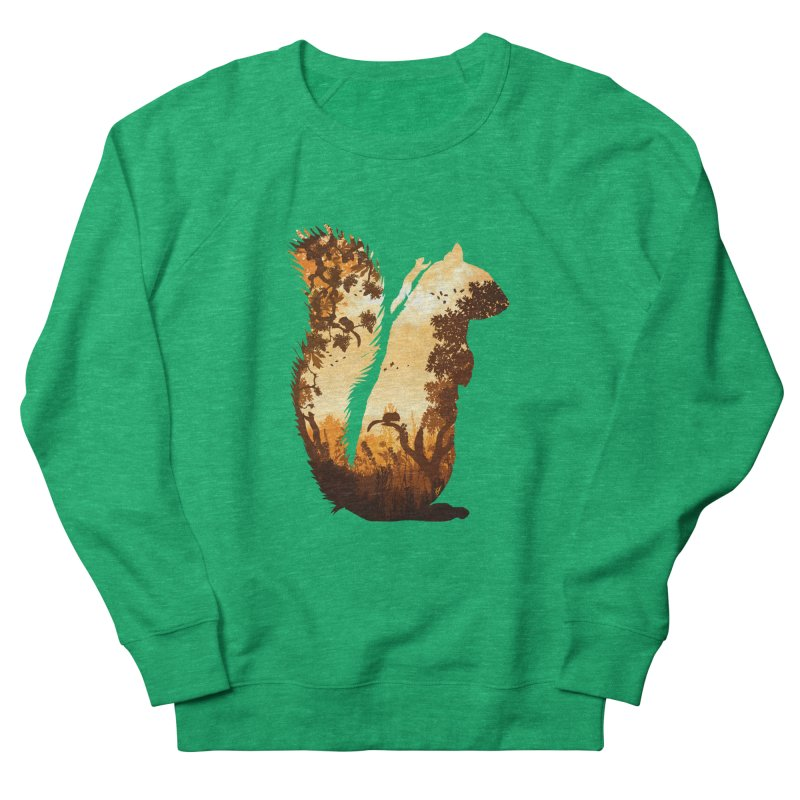 Squirrels in the Fall Men's Sweatshirt by DVerissimo's